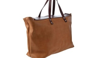 Steve Mono Leather Holdall