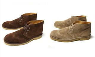 Beauty & Youth Wingtip Chukka Boots