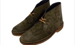 "Clarks ""Tobacco Suede"" Desert Boots"