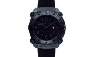 "Hamilton Below Zero ""Predator Black"" Watch"