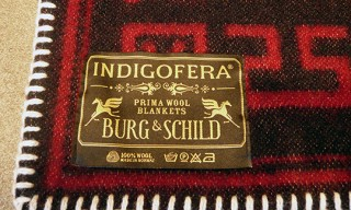Indigofera for Burg & Shild Blanket