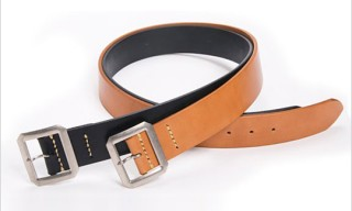 Warehouse Co. Spin Garrison Belts