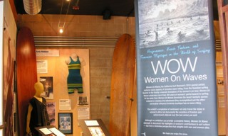Women on Waves at the California Surf Museum