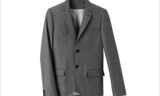 A.P.C. Suit Line in Stores