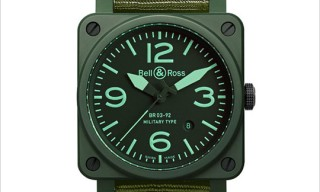 Bell & Ross BR03-92 Military Ceramic Watch