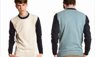 Dunhill by Kim Jones Color Block Sweater
