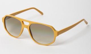 L.G.R Yellow Asmara Aviators Sunglasses