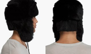 Paul Smith Sheepskin Chapka Hat