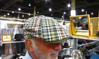 """Vegas   Woolrich Flat Cap with """"Ball Cap"""" Brim"""