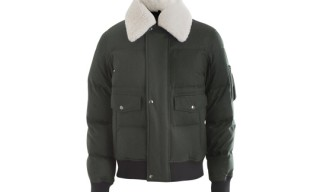 Yves Saint Laurent Sheepskin Collar Jacket