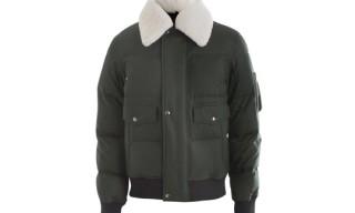 Yves Saint Laurent Sheepskin Collar Jacket