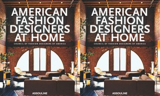 """American Fashion Designers at Home"" Book"