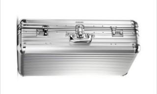 RIMOWA 1950's Reproduction Aluminum Luggage Case
