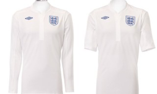 Umbro England Home Shirt by Peter Saville