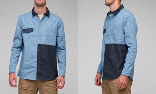 Cheap Monday Patchwork Shirt
