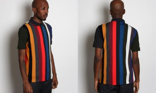 Raf Simons for Fred Perry Stripe Polo Shirt for Autumn 2010