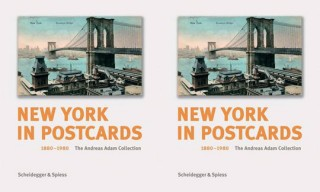 """New York in Postcards 1880-1980: The Andreas Adam Collection"" Book"