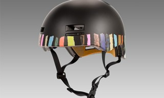 Paul Smith For Giro 'Multi Stripe' Print Giro Helmet