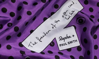 Rapha + Paul Smith Silk Scarf