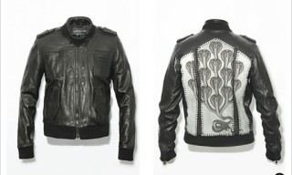 Scott Campbell for Surface to Air Leather Jackets