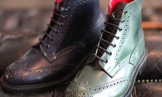 Tricker's Wingtip Boots for 14oz