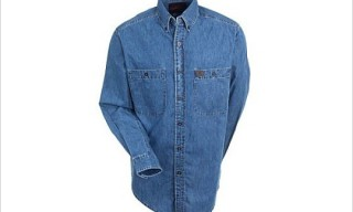 "Riggs Workwear ""Denim Shirt"" by  Wrangler"