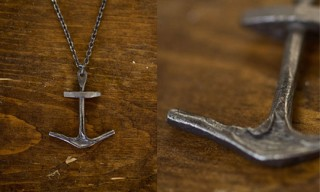 CXXVI Anchor II Bottle Opener Necklace