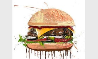 Dave White 'Cheesburger' Print