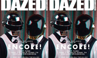 "Dazed & Confused Magazine ""Daft Punk"" 3D Cover"