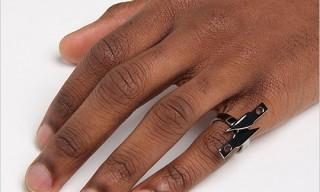 Eddie Borgo Silver Razor Blade Ring