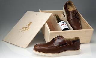 The Generic Man 4 Year Shoe and Wine