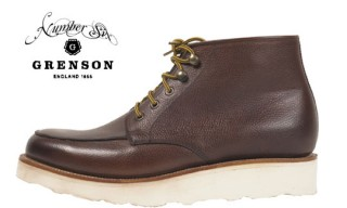 Grenson for Number Six London Gibson Boot