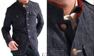 Haversack Denim Work Jacket
