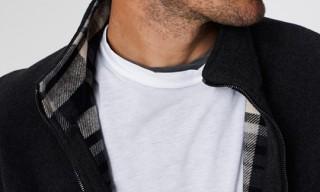 James Perse Reversible Zip Front Jacket