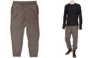 Lanvin Silk Jersey Sweatpants