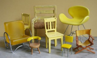A Collection of Miniature Chairs