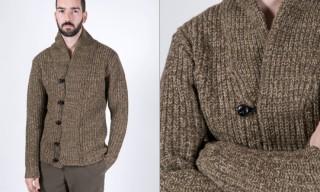 Nom De Guerre Heavy Wool Cardigan