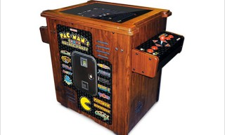 Pac-Man Arcade 30th Anniversary Authentic Cocktail Table