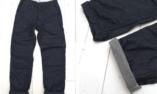 Post Overalls Denim Lined Chino