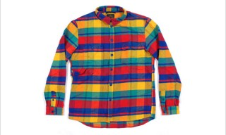 R. Newbold Heavy Brushed Flannel Shirt