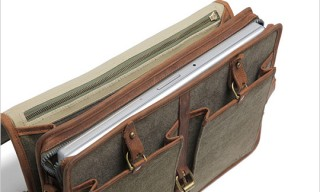 Temple Bags T046V Laptop Briefcase