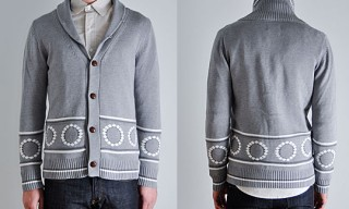 "Vanishing Elephant ""Stanely Grey Marie"" Cardigan"