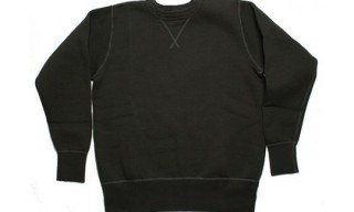 Buzz Rickson Black Sweatshirt
