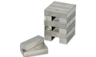 Dunhill Stainless Steel Topple Bricks
