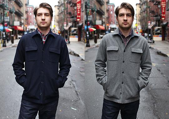 Wool Shirt Jacket Men | Outdoor Jacket