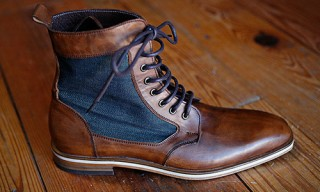 Helm Ray Ray Boots with Raleigh Denim