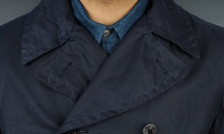 Heritage Research USN Deck Overcoat