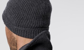 James Perse Fisherman's Ribbed Beanie