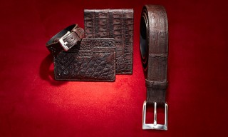 "John Varvatos ""Crocodile"" Accessories for Holiday 2010"