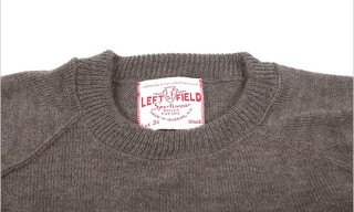 Left Field NYC Ivy Crewneck Sweaters